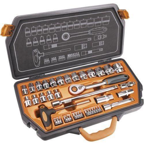 Neo Zestaw kluczy nasadowych 1/2 cala 08-621 (42 elementy) (5907558402711)