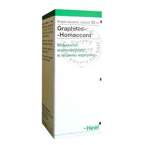 Heel graphites homaccord 30 ml (Homeopatia)