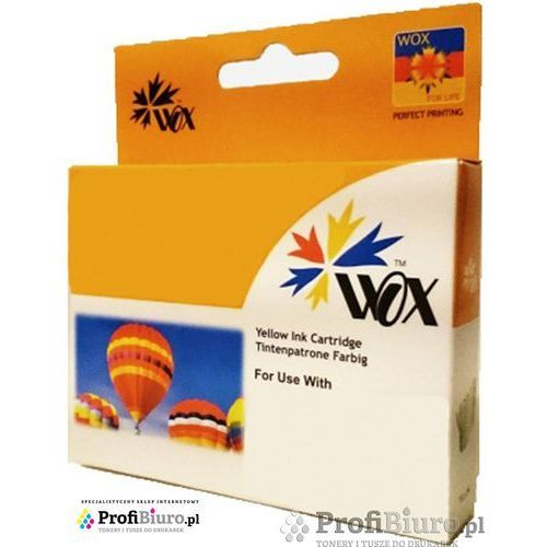 Tusz WOX-E554YN Yellow do drukarek Epson (Zamiennik Epson T0554) [15ml], kolor Yellow