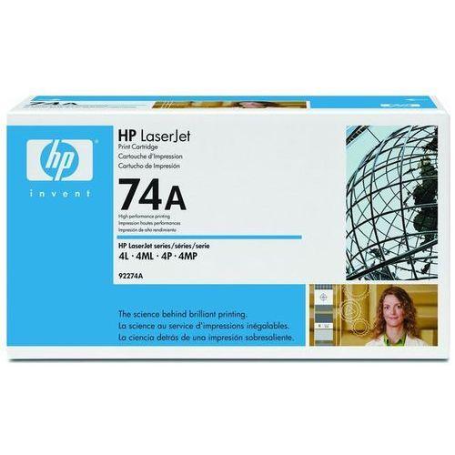 Wyprzedaż Oryginał Toner HP 74A do LaserJet 4L/4ML/4MP/4P | 4 000 str. | czarny black