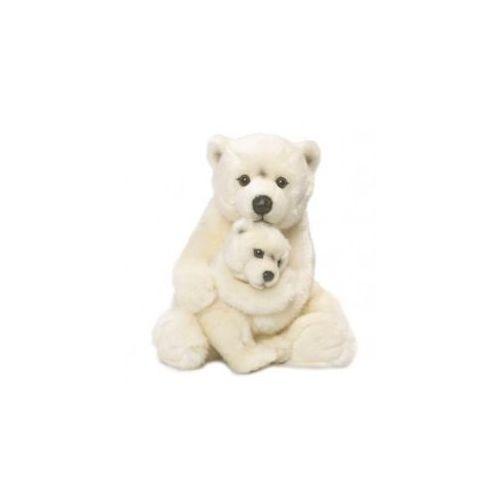 Wwf Miś polarny mama z dzieckiem 28 cm (8712269168712)