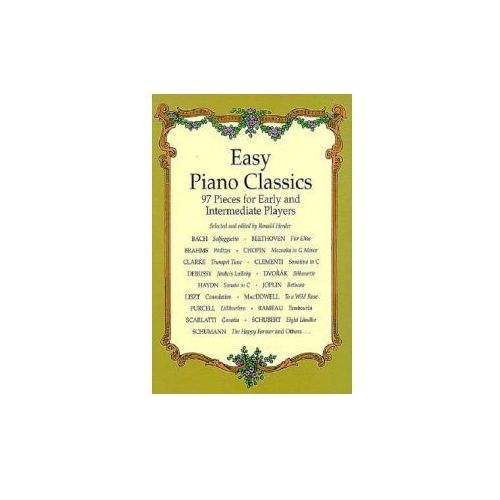 Easy Piano Classics: 97 Pieces for Early and Intermediate Players (9780486404073)