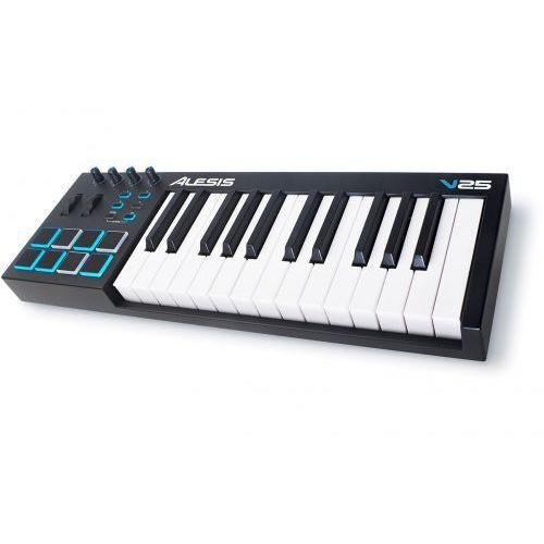 v25 klawiatura sterująca usb/midi marki Alesis