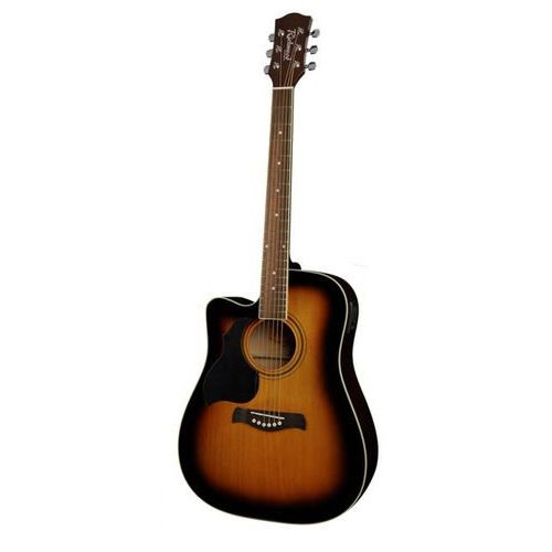 Richwood rd12ce sb gitara elektroakustyczna western/dreadnought leworęczna