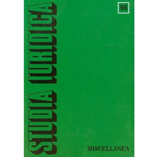 Studia Iuridica t.56 (234 str.)
