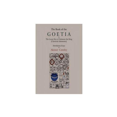 Book of Goetia, or the Lesser Key of Solomon the King ŁClavi
