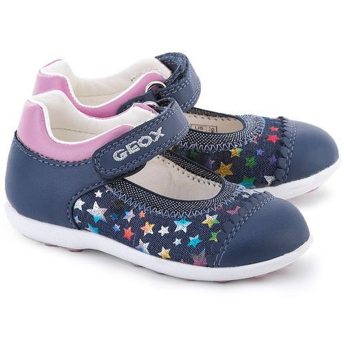 GEOX Baby Jodie - Granatowe Tekstylne Baleriny Dziecięce - B6226A 0SB85 C4243 od MIVO Shoes Shop On-line
