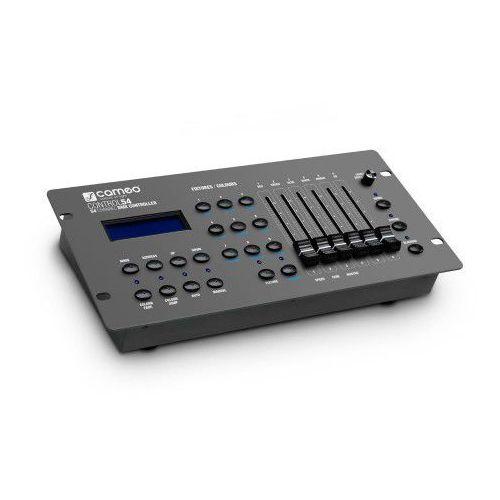control 54 - 54-kanałowy sterownik - kontroler dmx marki Cameo