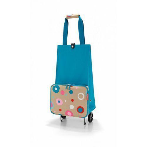 Reisenthel FOLDABLETROLLEY Wózek na Zakupy - Funky Dots 1 (wózek na zakupy)