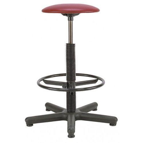 Krzesło specjalistyczne goliat ts12 + ring base - obrotowe z regulowanym podnóżkiem marki Nowy styl