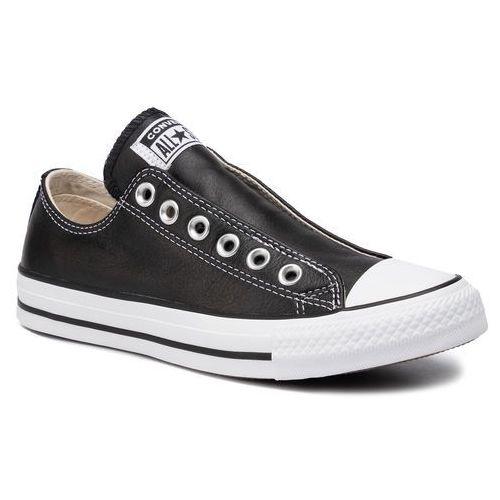Converse Trampki - ctas slip 167976c black/white/black