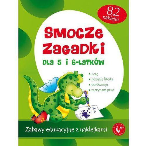 Kukuryku - Książeczka SMOCZE ZAGADKI 60136