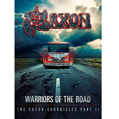 WARRIORS OF THE ROAD - THE SAXON CHRONICLES (BLU-RAY+CD) - Saxon (Płyta DVD), 2564621114