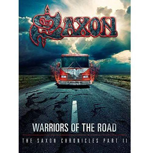 WARRIORS OF THE ROAD - THE SAXON CHRONICLES (BLU-RAY+CD) - Saxon (Płyta DVD), 2564621114