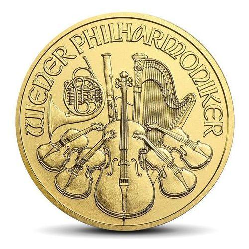 Wiedeńscy Filharmonicy 1/4 uncji złota - wysyłka 24 h! - 24h