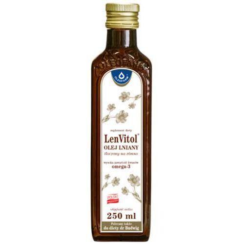 LenVitol - olej lniany tłoczony na zimno - 250 ml