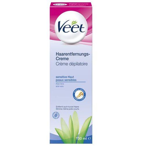 Veet Sensitive krem do depilacji skóry wrażliwej 100 ml od Apo-Discounter.pl