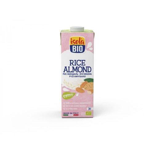 Napój ryżowy migdałowy bezglutenowy bio 1 l marki Isola bio