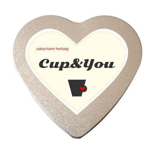 Cup&you cup and you Zakochane herbaty serce saszetki 5g, 8g – zestaw herbat na prezent upominek