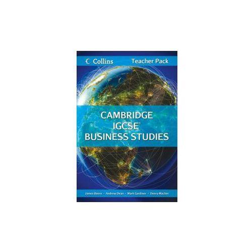 Cambridge IGCSE Business Studies Teacher Resource Pack