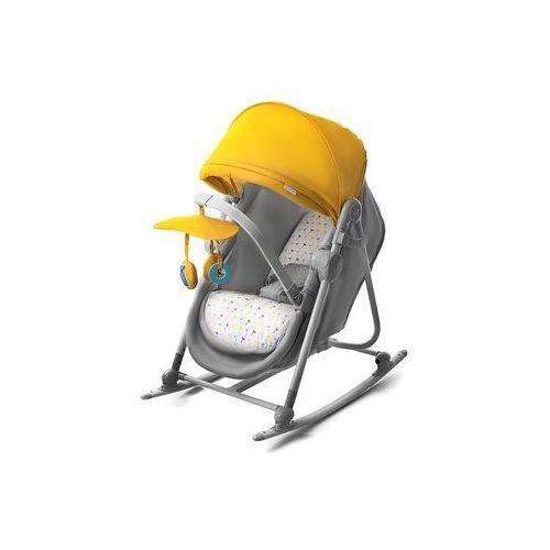 Kinderkraft Leżaczek bujaczek łóżeczko 5w1 unimo żółty - (5902533902200)