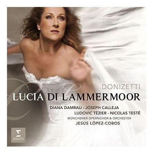 Warner music poland Donizetti: lucia di lammermoor (live recording) - diana damrau (płyta cd)