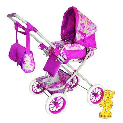 Woody Duży wózek dla lalek różowy - oferta [359b4f76873595dc]