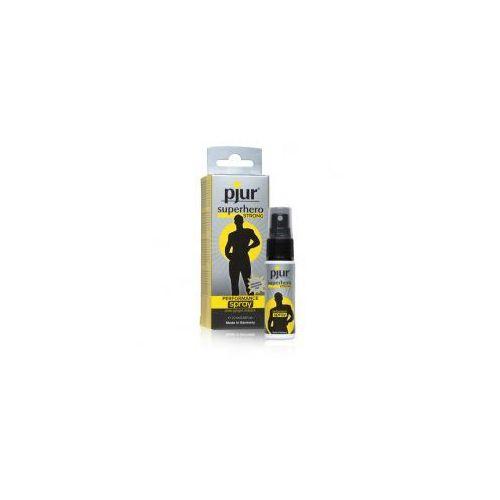 Spray przedłużający seks - superhero strong 20 ml marki Pjur