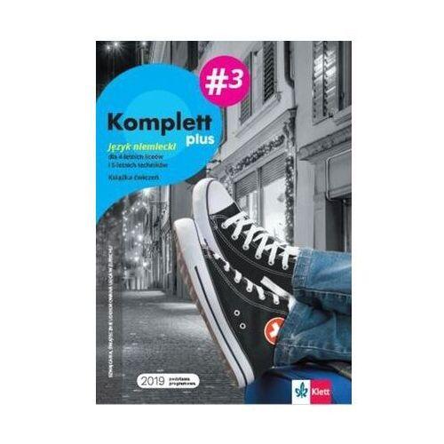 Komplett plus 3. Zeszyt ćwiczeń + kod dostępu do podręcznika i ćwiczeń interaktywnych - książka