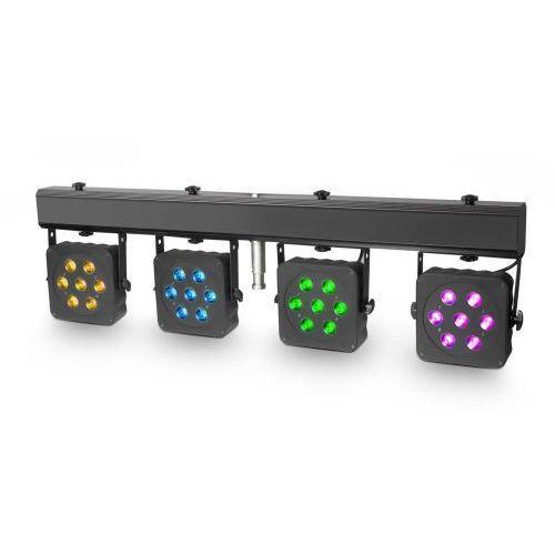 multi par 2-kompaktowa listwa oświetleniowa led tri colour 28x3w wraz z walizką transportową marki Cameo