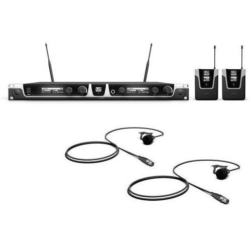 Ld systems u505 bpl 2 mikrofon bezprzewodowy krawatowy, podwójny