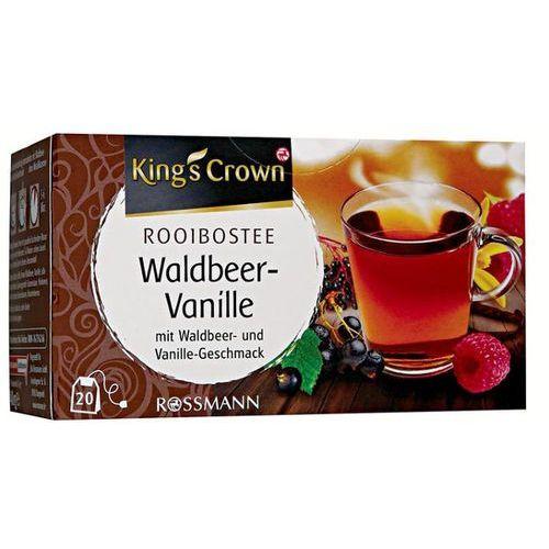 King's crown herbata rooibos owoce leśne - rooibos owoce leśne marki Kings' crown