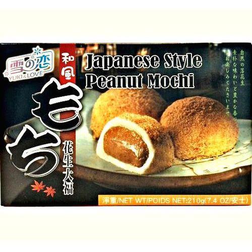 Yuki & love Mochi ryżowe ciasteczka z orzeszkami ziemnymi 210g -