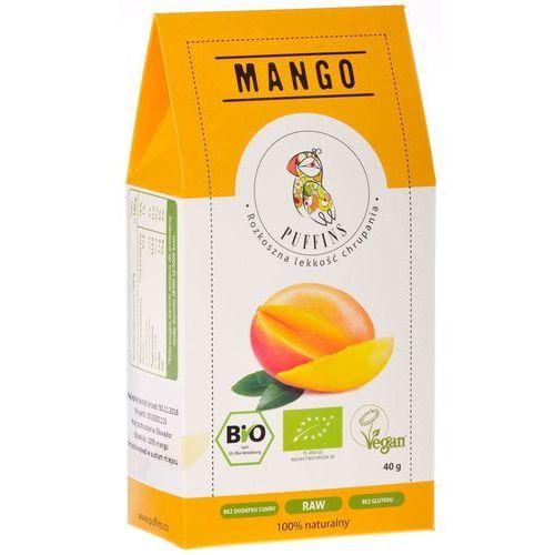 Puffins Mango Suszone Bez Cukru 40g MicroFood EKO
