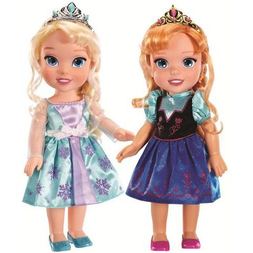 Lalka JAKKS PACIFIC 31024 Kraina Lodu Dwupak Elsa i Anna (36 cm) + DARMOWA DOSTAWA! - oferta [858b692875d536d6]