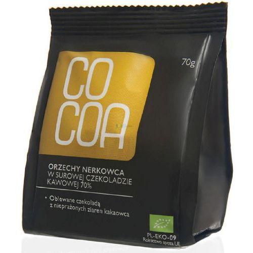Orzechy nerkowca w surowej czekoladzie BIO 70g - COCOA