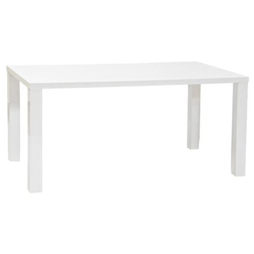 Stół montego 4 white 90 x 160 marki Signal