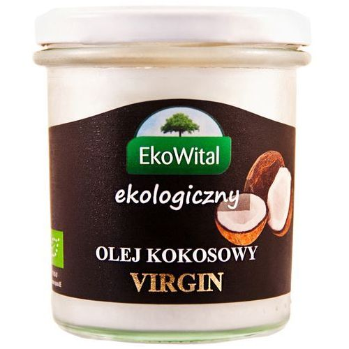 Eko wital Olej kokosowy virgin bio 240 g ekowital (5908249970670)