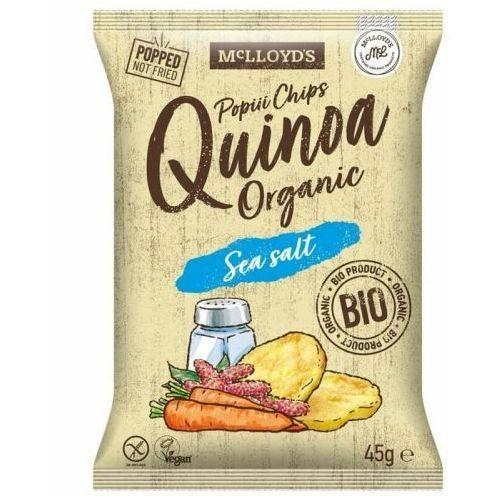 Cibi Chrupki z quinoa z marchewką i solą morską bezglutenowe bio 45 g mclloyd's