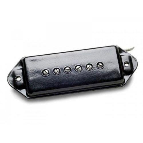 Nordstrand np9.0, p90 style pickup, hot wind, black cover - bridge przetwornik do gitary
