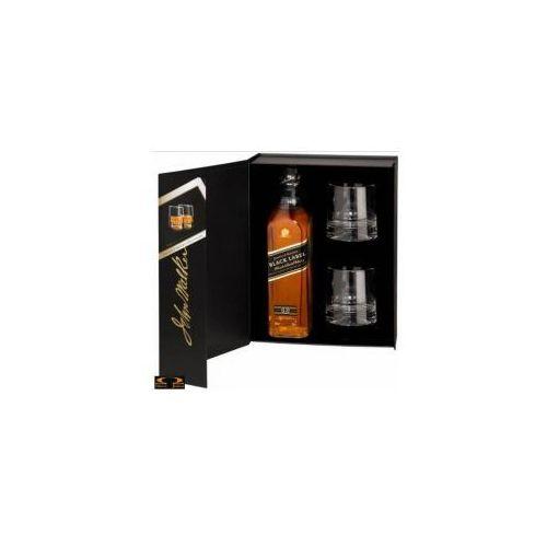 Whisky Johnnie Walker Black Label 0,7 l. + 2 szklanki (5000267108445)