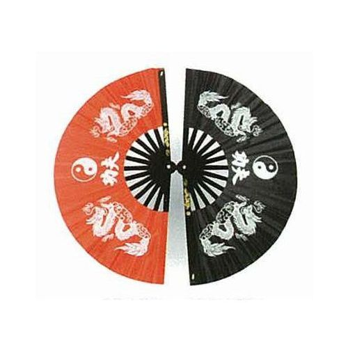 Wachlarz do kung fu - dragon with ying yang design (gttd464bs) marki Goods.pl