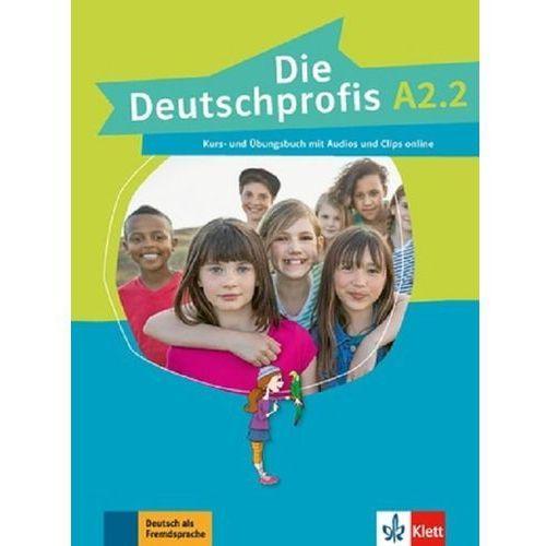 Die Deutschprofis A2.2 Podręcznik z ćwiczeniami + CD (136 str.)