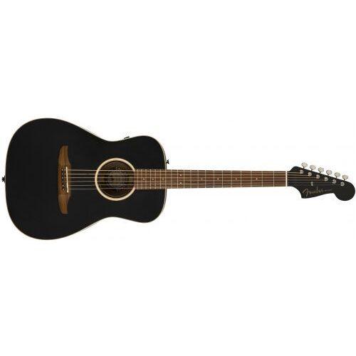 malibu special, pau ferro fingerboard, matte black w/bag gitara elektroakustyczna marki Fender