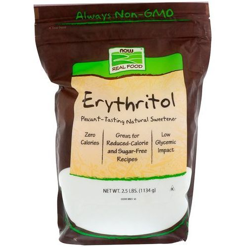 Now foods erythritol pure (erytrytol) - 1134g