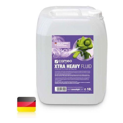 Cameo xtra heavy fluid 10l płyn do wytwarzania mgły o dużej gęstości i ekstremalnie długiej trwałości