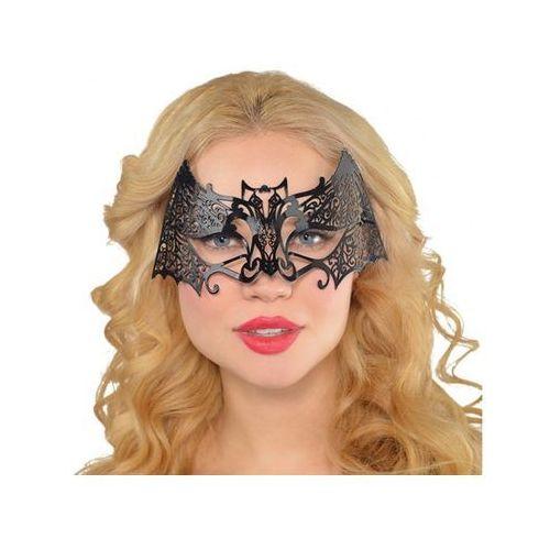 Maska karnawałowa czarna - 1 szt. marki Amscan