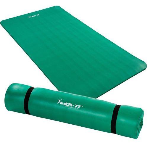 ZIELONA MATA PIANKOWA 190x60x1,5cm DO ĆWICZEŃ / GIMNASTYKI / FITNESS - Zielony / 190x60x1,5 cm - produkt dostępny w Makstor