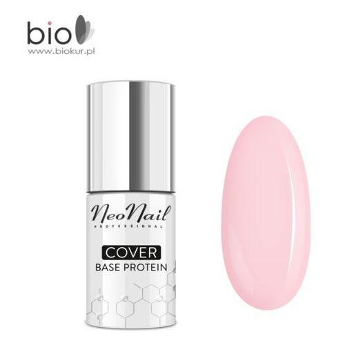 NOWOŚĆ! Lakier hybrydowy Cover Base Protein Nude Rose NeoNail – 7,2 ml, 5903274049247