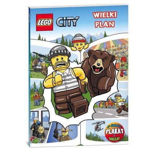 Lego City Wielki plan, książka z kategorii Komiksy